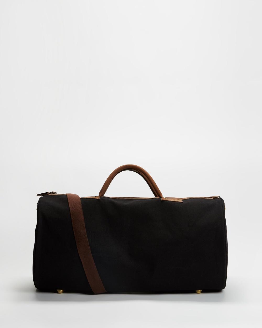 Double Oak Mills Midtown Weekender Bags Black