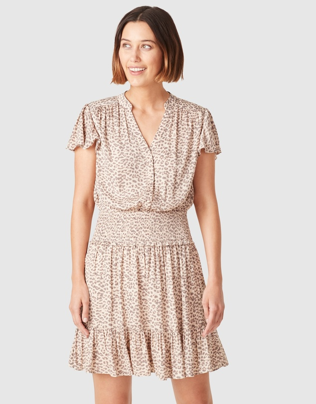 French Connection - Shirred Waist Dress