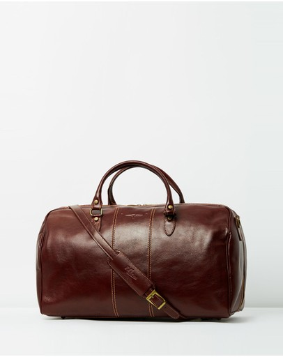 R.M. Williams - Leather Duffle Bag