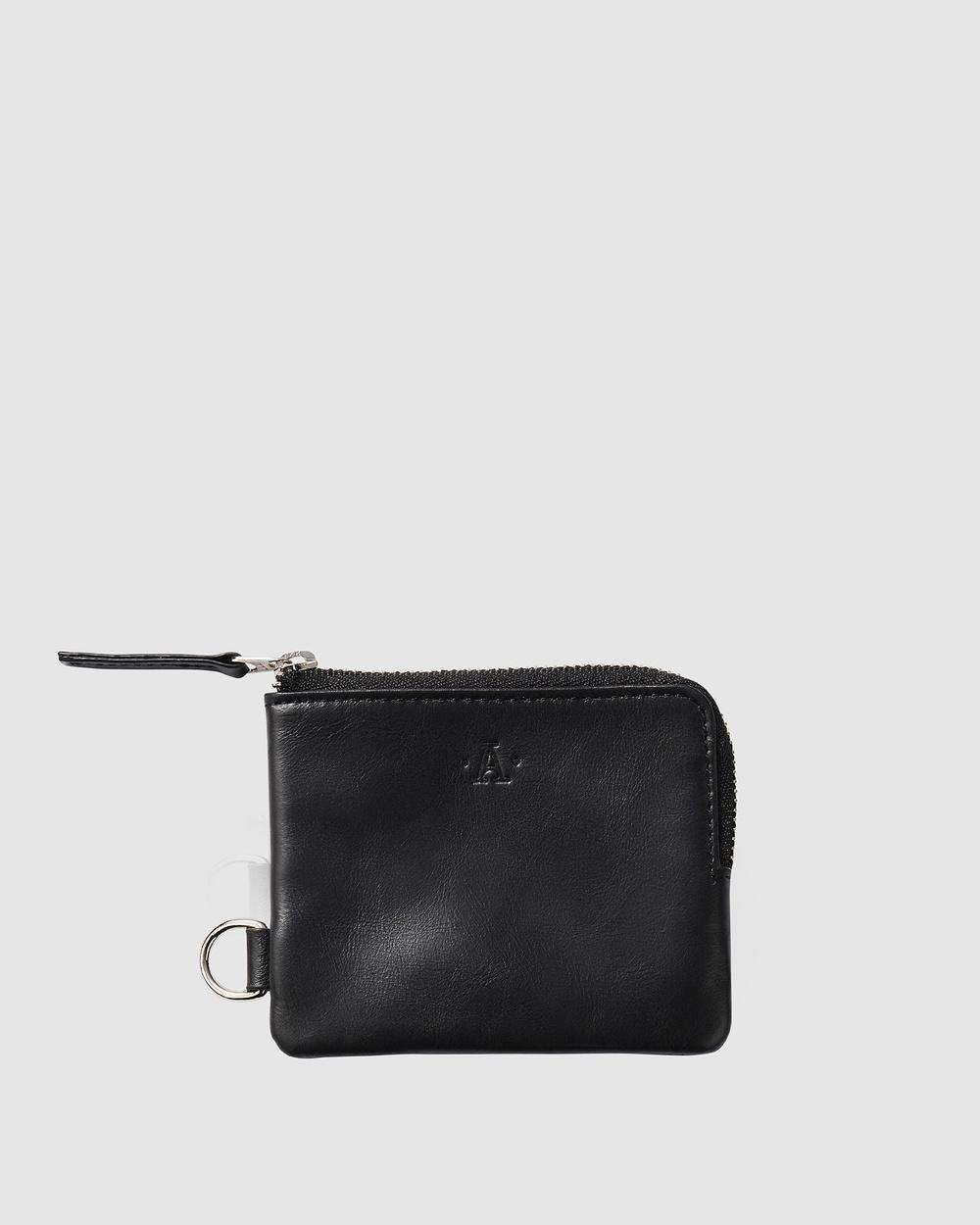 Atlas Lifestyle Co Wallet 01 Wallets Black