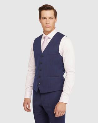 Oxford Vest - Coats & Jackets (Blue)