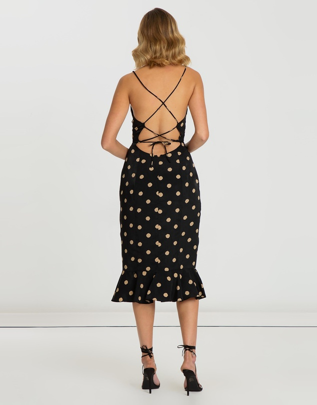 BWLDR - Revolver Strappy Back Dress