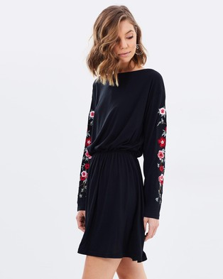 Atmos & Here – Paris Embroidered Dress