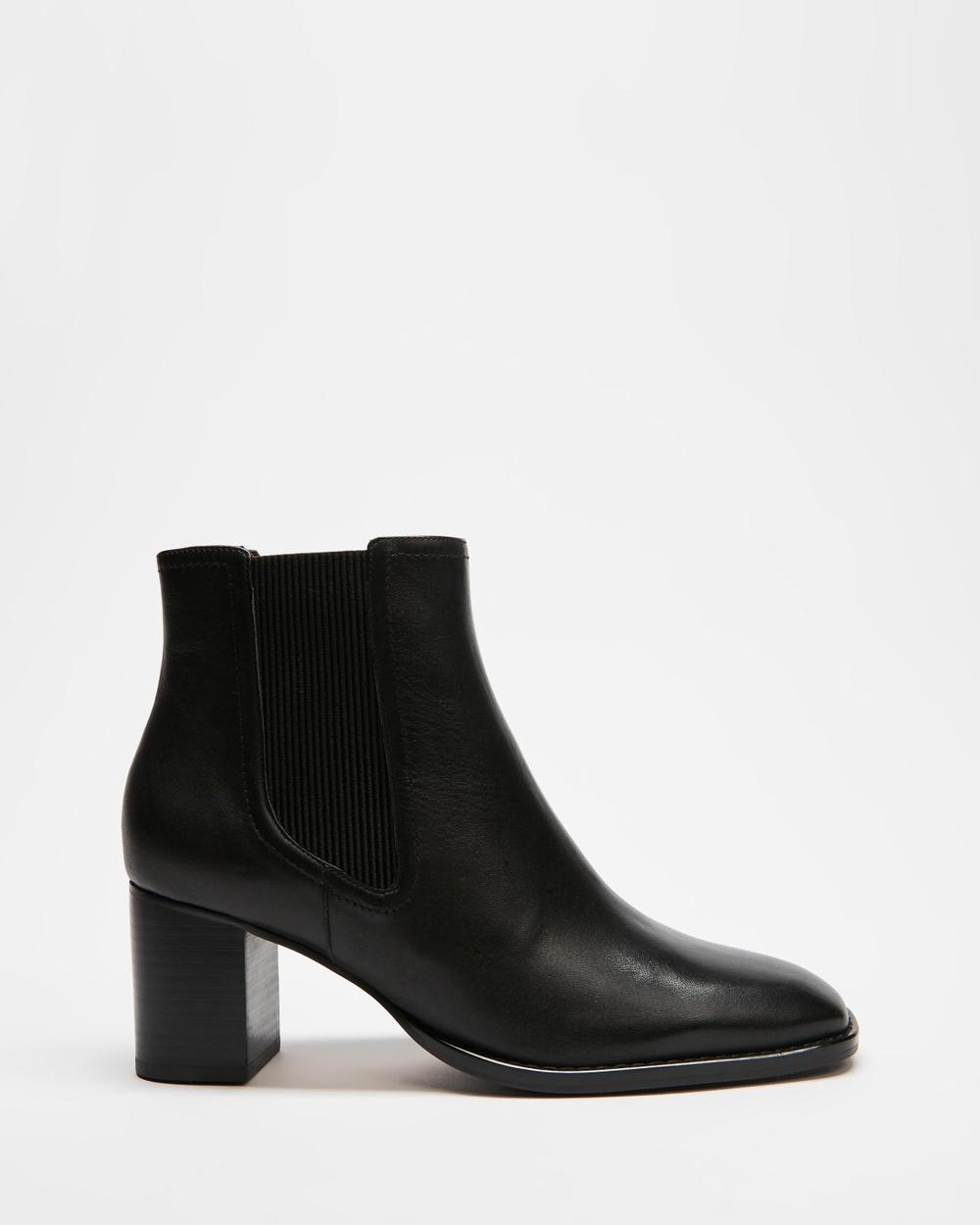 Tony Bianco Wager Boots Black Como Australia