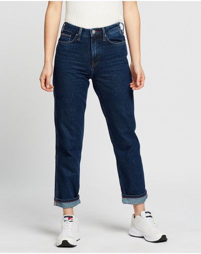 Tommy Hilfiger - Classic Straight High-Waist Jeans