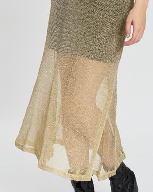 LENNI the label Solis Midi Skirt - Skirts (Gold Chain)