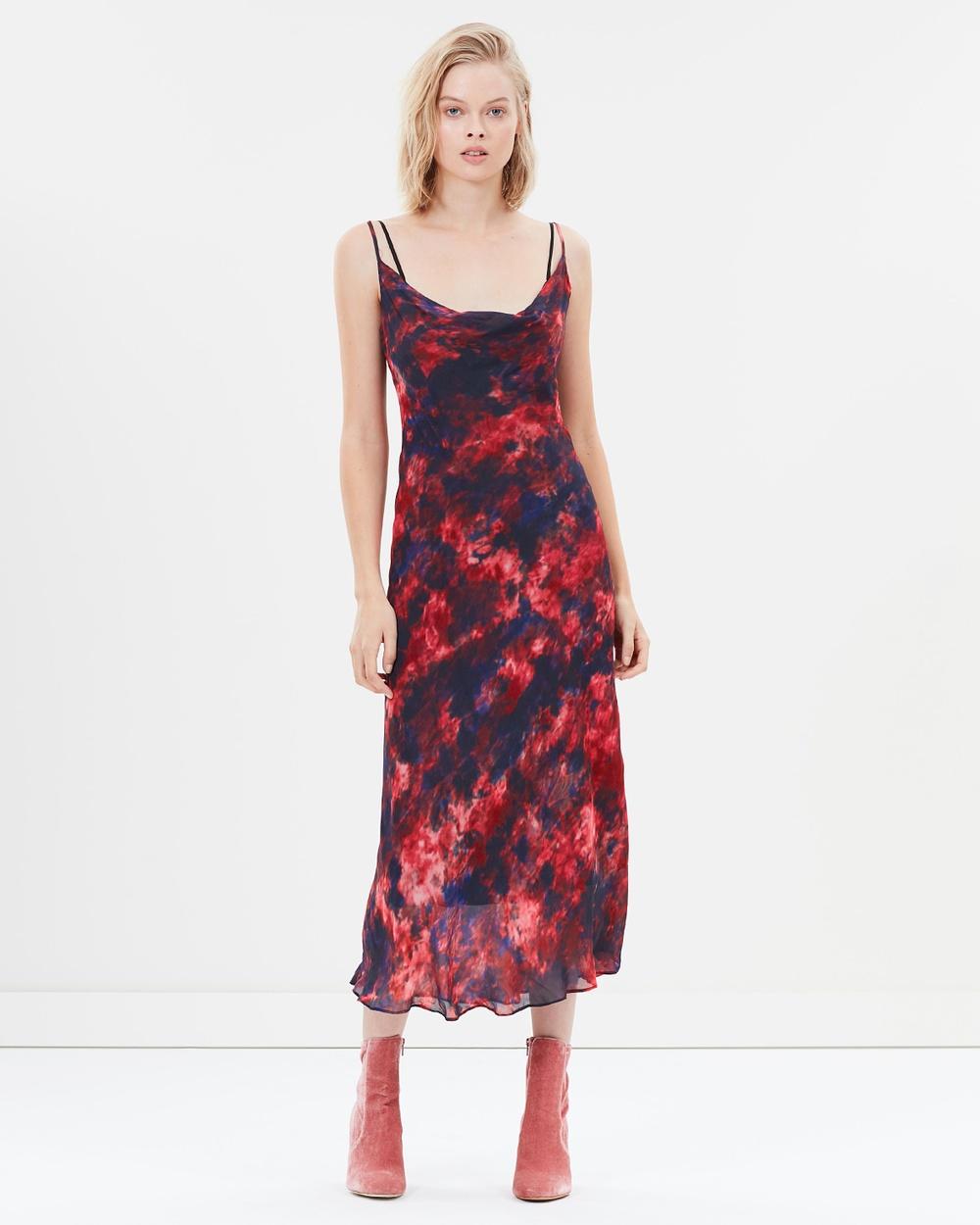 Hansen & Gretel Milena Dress Printed Dresses Tie Dye Milena Dress