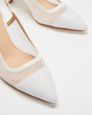 Dazie Javier Heels - Heels (White Smooth)