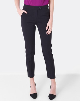 Forcast – Jocelyn Cropped Pants Black