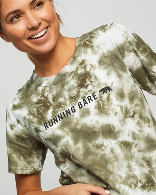 Running Bare I Heard A Rumour Cropped Tee - Short Sleeve T-Shirts (Escarp Tdy)
