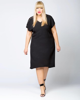 Harlow – Black Magic Woman Dress Black