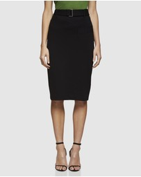 Oxford - Greenacre Ponti Skirt