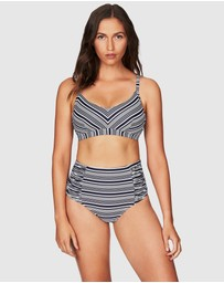 Sea Level Australia - Tulum Stripe Bralette With Hidden Underwire