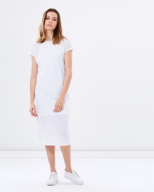 Nude Lucy – Jonna Double Layer Dress – Dresses (White)