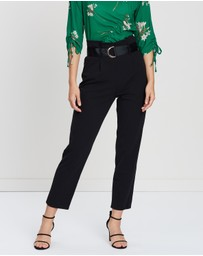 Dorothy Perkins - D-Ring Tapered Trousers