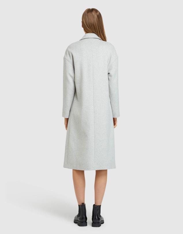 Women Celia Wool Blend Coat