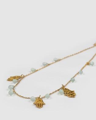 Marlafiji Janis Necklace - Jewellery (Gold)