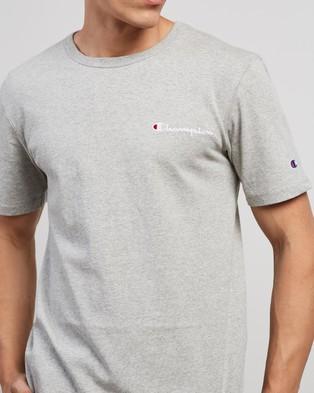 Champion Heritage Graphic Tee - T-Shirts & Singlets (Oxford Grey)