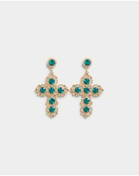 Atmos&Here - Cross Earrings