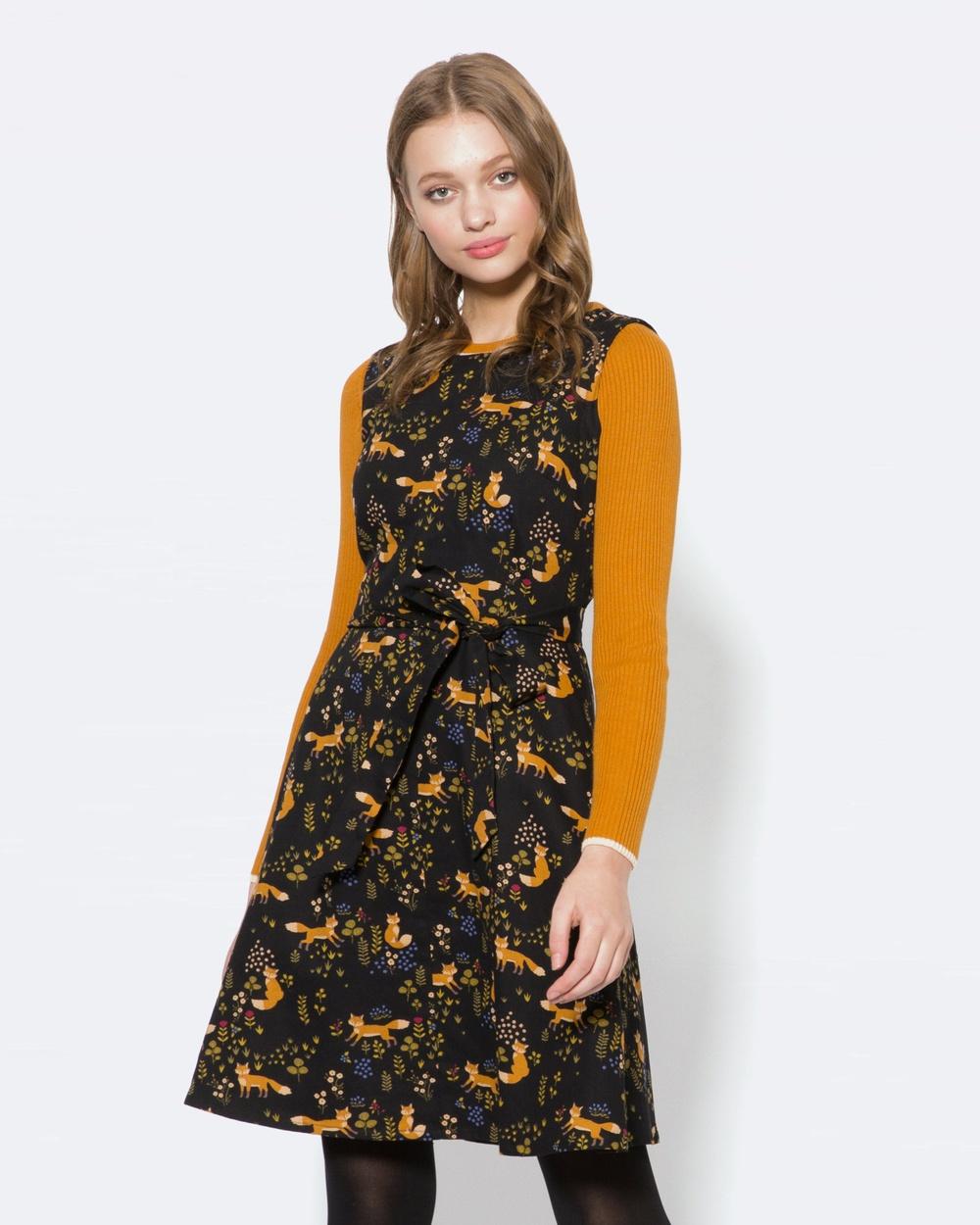 Princess Highway Foxy Loxy Dress Dresses Black Foxy Loxy Dress