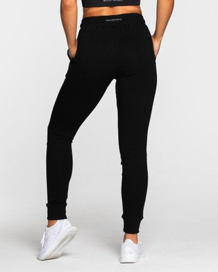 Muscle Republic Prime Ladies Track Pants - Track Pants (Black)