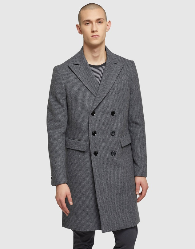 Oxford - Atticus Twill Overcoat