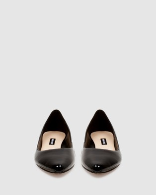 Nine West Speakup - Flats (BLACK PATENT)