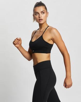 Reebok Performance Workout Ready Sports Bra - Crop Tops (Black)