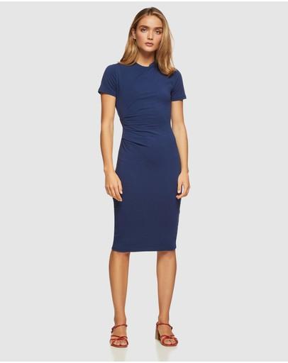 Oxford Hartley Jsersey Dress Blue