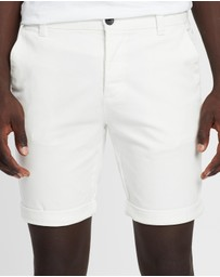 Topman - Skinny Stretch Chino Shorts