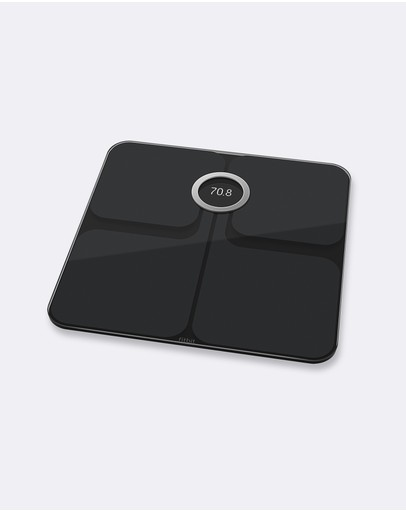 Fitbit - Fitbit Aria 2 Smart Scale Black