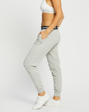 Bonds Essentials Skinny Trackpants Sweatpants Shadow Marle