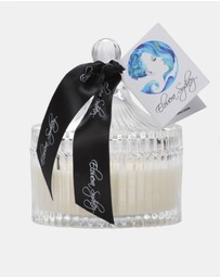 Elouera Sydney - Fresh Linen Clear Glass Carousel Candle