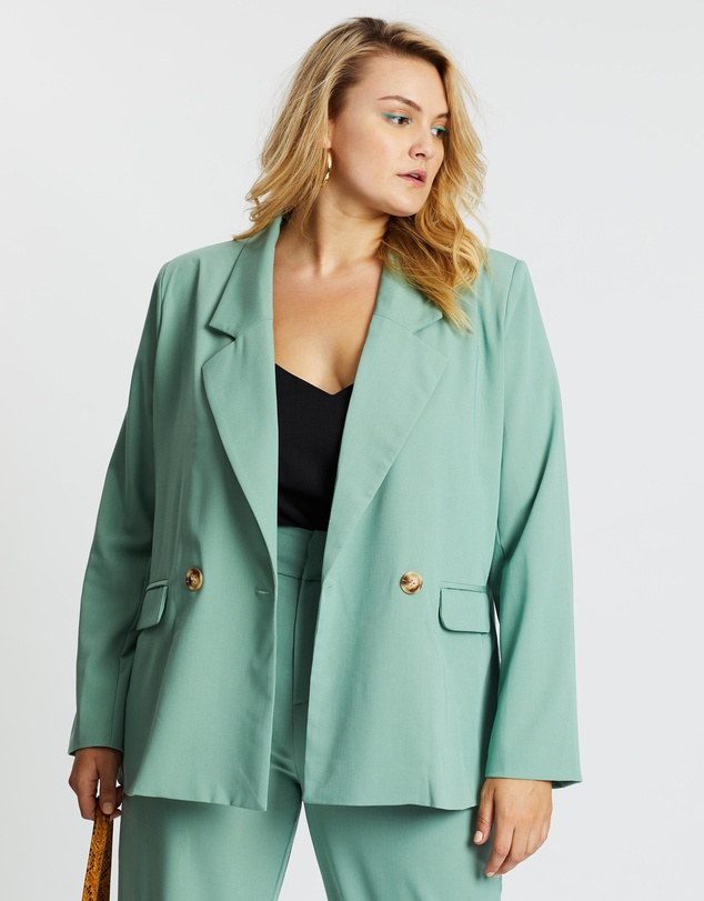 Mika Muse - Fair Game Double-Breasted Blazer