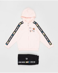 Puma - Sesame Hooded Jogger Set - Kids