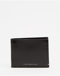 Tommy Hilfiger - Polished Leather Extra Credit Card & Coin Wallet
