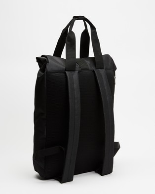 Lyle and Scott Roll Top Backpack - Backpacks (True Black)