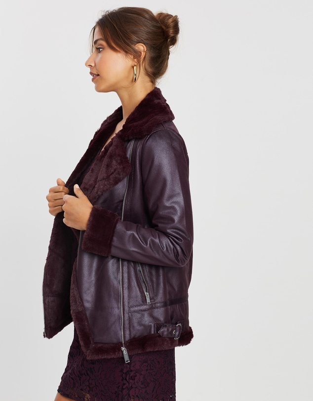 Dorothy Perkins - Shearling-Look Jacket