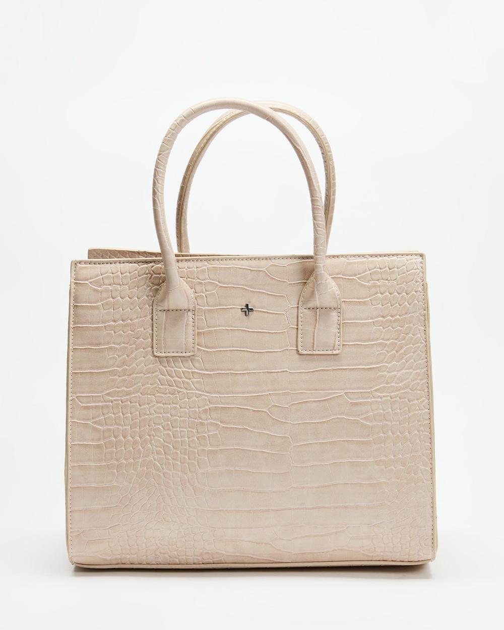 PETA AND JAIN Valentine Tote Bag Handbags Nude