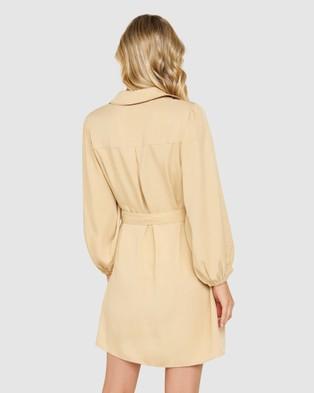 Forever New Sophie Utility Mini Dress - Dresses (Buttermilk Kiss)