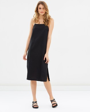Assembly Label – Coast Dress Black