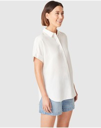 French Connection - Oversized Short Sleeve Shirt