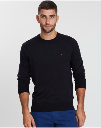 WCC Cotton Silk Crew-Neck Knit