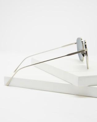 Lacoste L206SPC - Sunglasses (Silver)