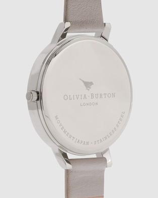 Olivia Burton Big Dial - Watches (Silver)