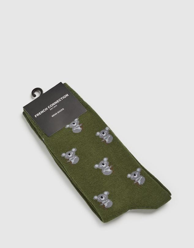 Men Koala 1 Pk Socks