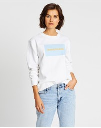Calvin Klein Jeans - Institutional Box Logo Crew Neck