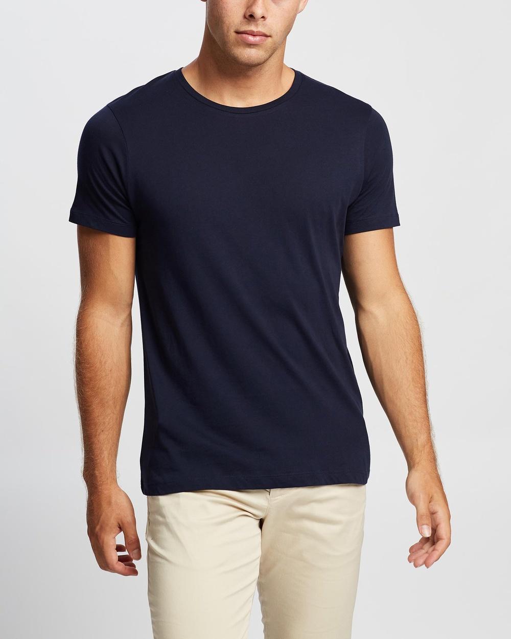 Marcs Brando Pima Tee T-Shirts & Singlets NAVY Australia