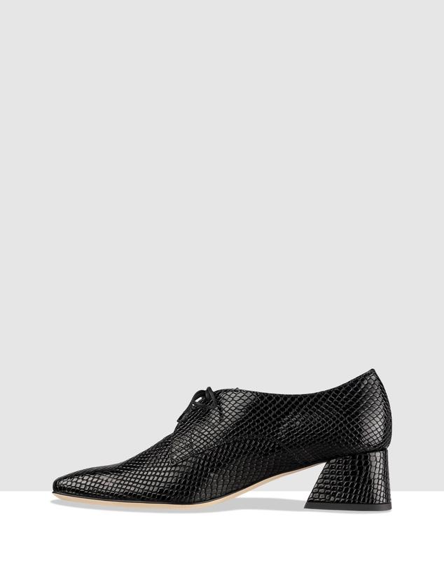 Women Etna Lace-Up Heels