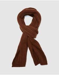 Oxford - Cornell Cable Scarf